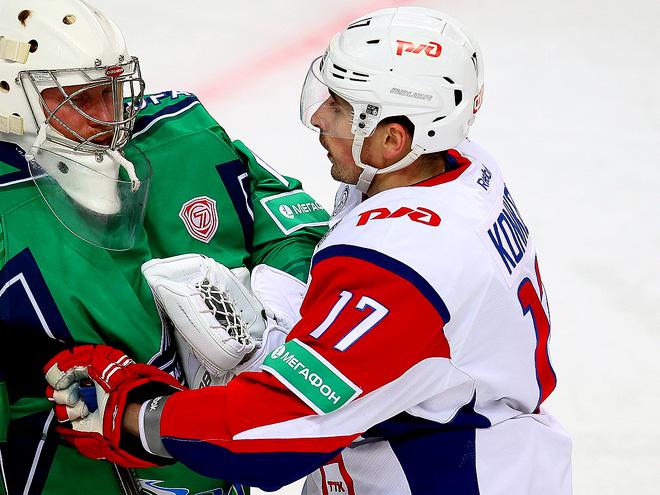 «Салават» - «Локомотив» 5:2
