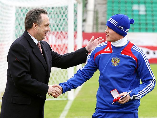 Виталий Мутко и Игорь Денисов
