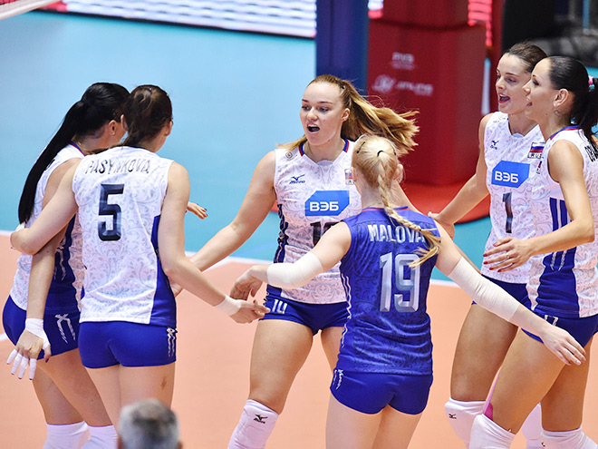 Россиянки на старте Кубка мира обыграли доминиканок