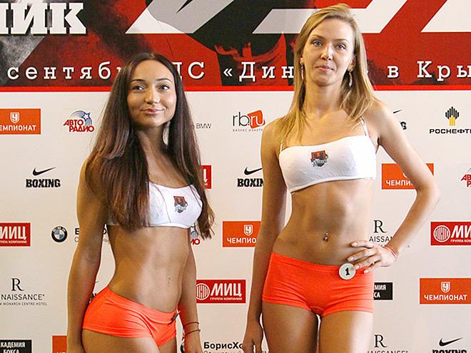 Определены две победительницы конкурса ринг-гёрлз