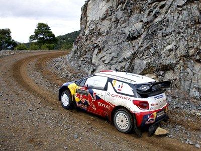 Обзор пятничных событий Ралли Греции WRC: Лёб впереди, Новиков — 5-й