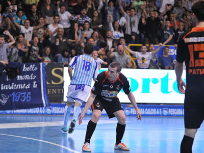 Старт плей-офф чемпионата Италии по мини-футболу