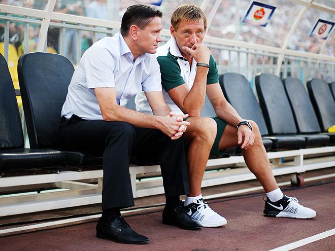 Дмитрий Аленичев и Андрей Тихонов