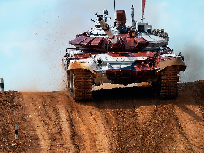 Что такое танковый биатлон