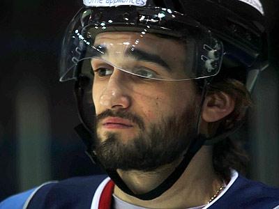 Защитник Михаил Чурляев - воспитанник магнитогорского хоккея