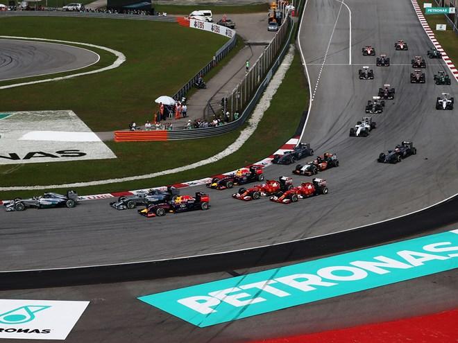 Формула-1. Гран-при Малайзии. Онлайн воскресенья