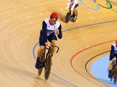 Лондон-2012. Велоспорт. Крис Хой