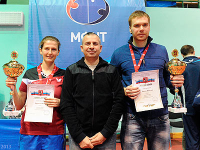 Настольный теннис. Итоги чемпионата Москвы