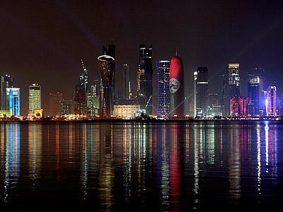 Установка на Катар