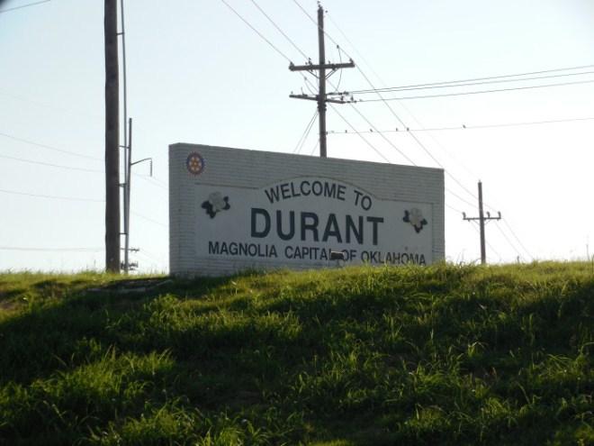 Жители Оклахомы хотят добиться переименования города Дюрант