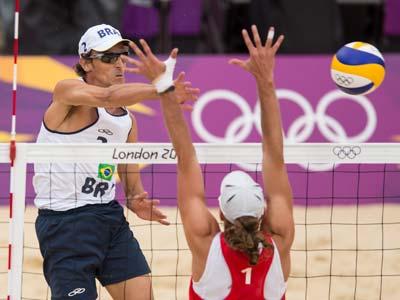 Лондон 2012. Пляжный волейбол. Эмануэль Рего