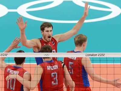 Лондон. Волейбол. Россия обыграла команду Туниса