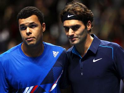 Федерер и Цонга закольцевали Итоговый турнир
