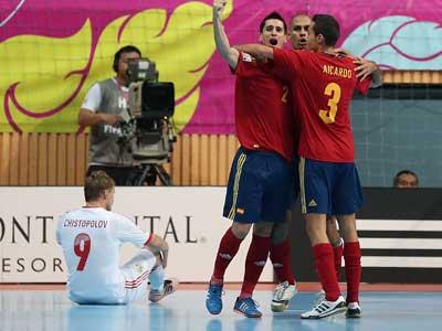 Россия проиграла Испании