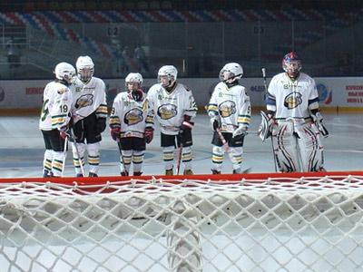 Золотая хоккейная антилопа