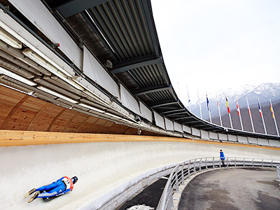 Олимпиада в Сочи. Как построить бобслейную трассу?