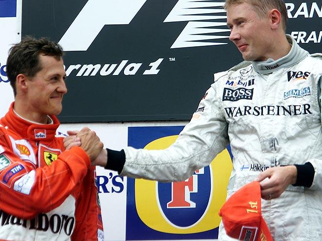 Гран-при Бельгии-2000: Хаккинен обогнал Шумахера с помощью кругового