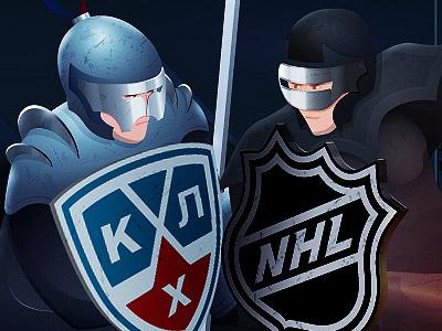 НХЛ – КХЛ. Война денег. Часть 1