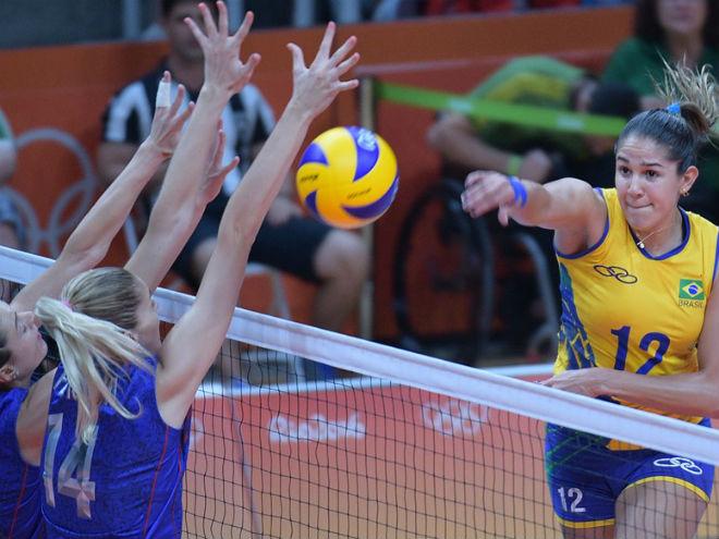 Рио-2016. Волейбол. Бразилия - Россия - 3:0