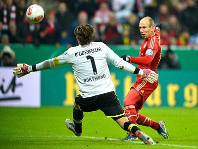 «Бавария» выиграла у «Боруссии» Д в Кубке Германии