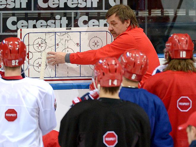 Как сборная России провела первый день в Минске