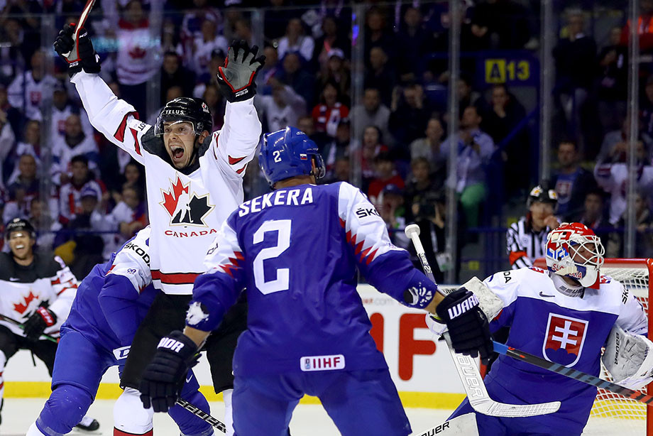 Словакия — Канада — 5:6, обзор матча ЧМ-2019