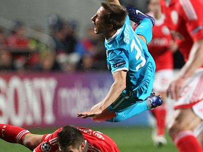По мнению экспертов, «Зениту» не хватило наглости в матче с «Бенфикой»