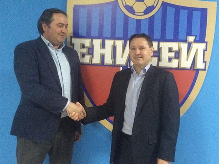 Дмитрий Аленичев возглавил «Енисей»