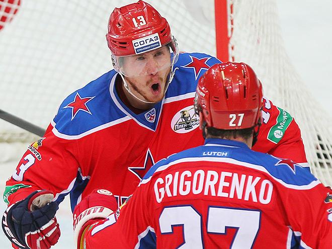 ЦСКА вырвал победу у СКА в третьем овертайме