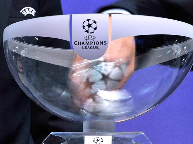 Жеребьёвка Лиги чемпионов и Лиги Европы онлайн