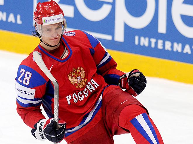 Стал известен состав сборной России на игры с Чехией