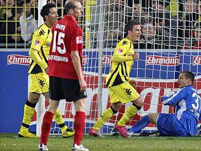 Посторонитесь, Дортмунд наступает!
