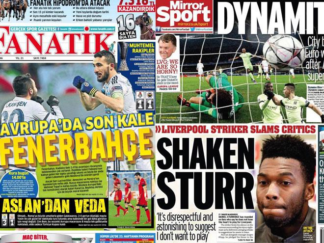 Материалы иностранной прессы о матчах российских клубов в Лиге Европы