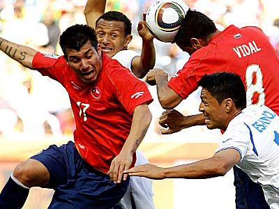 Мендоса: Чили повезло, ведь у них не было моментов