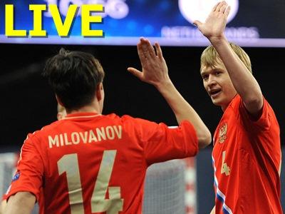 Мини-футбол. Чемпионат Европы. Румыния - Россия
