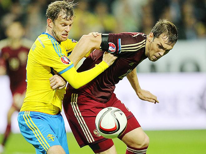 Швеция – Россия. Обзор матча – 1:1