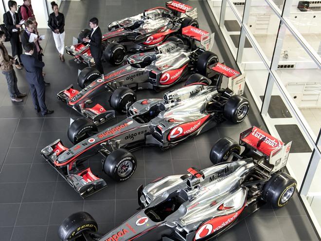 Как устроена база команды Формулы-1
