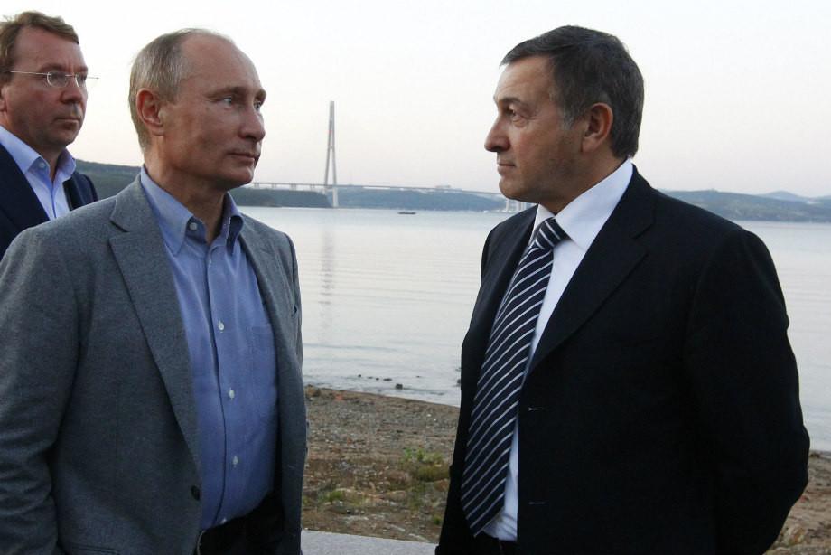 Владимир Путин и Араз Агаларов