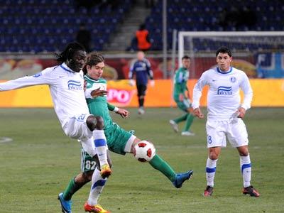 В чемпионате Украины по количеству карточек лидируют два клуба