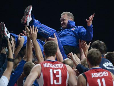 Сборная России — чемпион Европы!