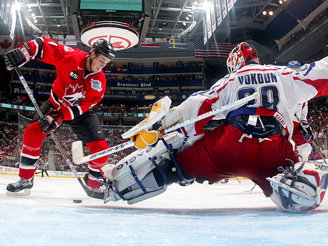 Как сложились полуфиналы КМ-2004. Победы Канады и Финляндии
