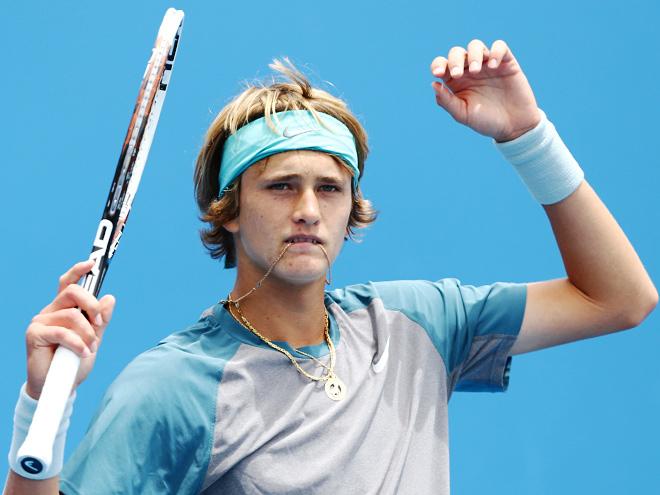 зверев саша теннис