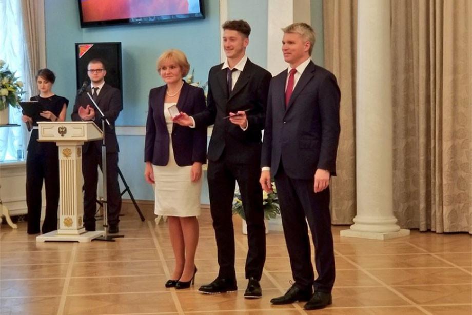 Игроков сборнойРФ удостоили звания заслуженных мастеров спорта