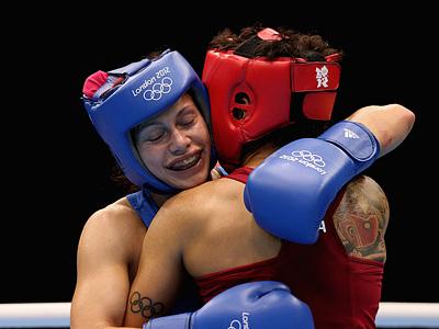 Лондон 2012. Бокс. Софья Очигава