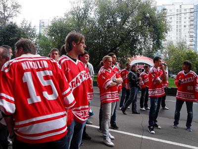 Встреча «Спартака» с болельщиками