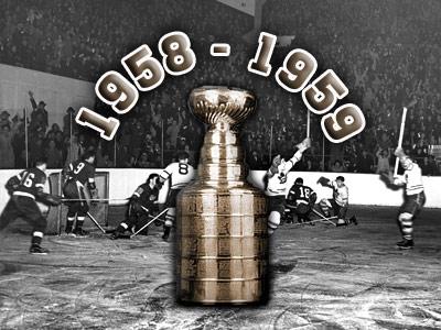 Кубок Стэнли. Часть 67. 1958-1959