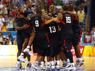 Баскетбольная Америка круче футбольной Бразилии!