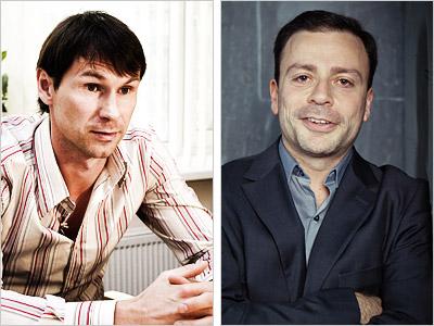 Егор Титов и Игорь Рабинер