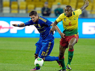 Украина – Камерун – 0:0