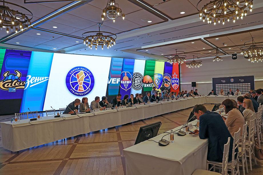 В Москве прошёл совет Единой лиги ВТБ